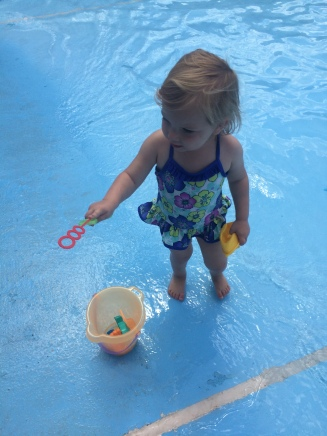 Wading Pool Fun!